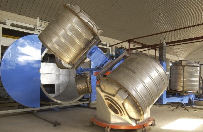 Bi Axial Rotational Molding Machinery